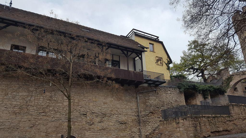 Haus auf der Mauer, Jena